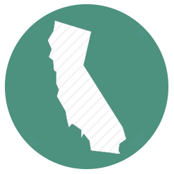 California construction stormwater inspector icon