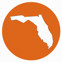 Florida erosion and sediment control icon