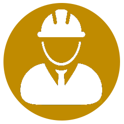 construction stormwater inspector icon