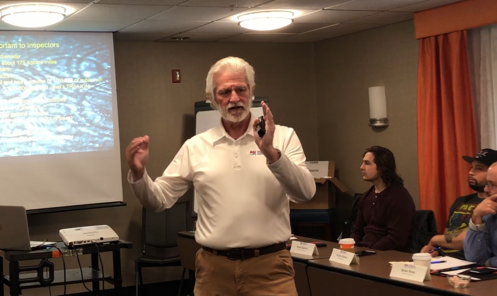 Fred teaching stormwater class 2019